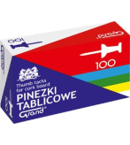 Pinezki GRAND tablicowe 100 szt
